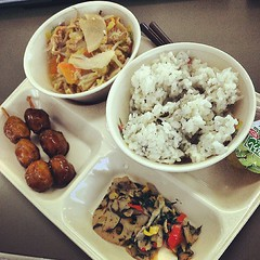 Photo:#Japanese #school #lunch #yummy #altLifeinjapan #food By:cjpstudios