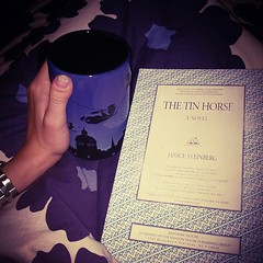 New #sleepytime routine: #greentea and a #goodbook and #notv ! Currently reading The Tin Horse and loving it.