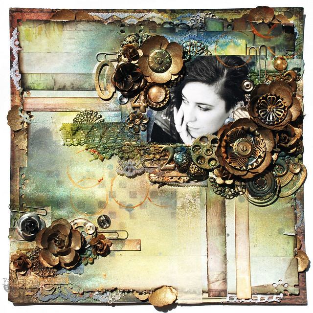 Steampunk Love - 7DS, Prima, Sizzix