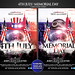4th July/ Memorial Day Party Flyer Template by grandelelo