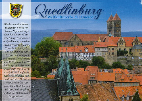 Collegiate Church, Castle and Old Town of Quedlinburg