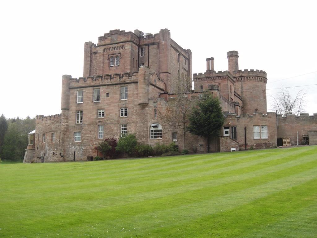 Dalhousie Castle...it's a bit posh