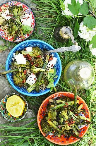 Салат зелененький с брокколи новые фото