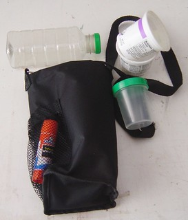 Repurposed Water Bottle Bag