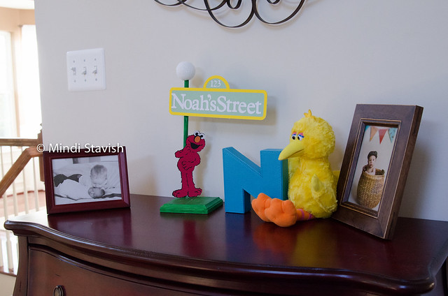 Sesame Street entry way table