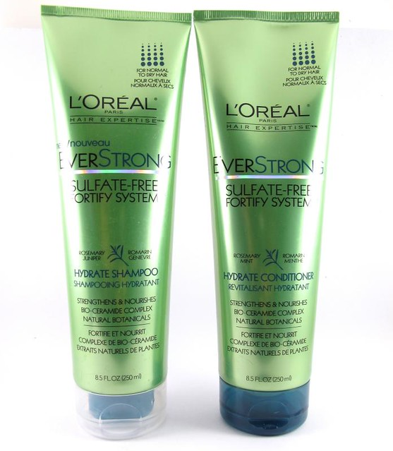 Drugstore Week: L'Oreal EverStrong Hydrate Shampoo and Conditioner ...