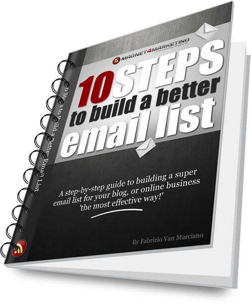 Build a Better Email List Binder eBook
