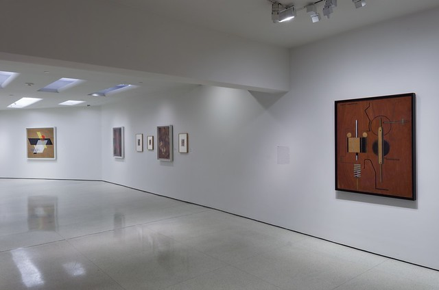 Installation View: New Harmony: Abstraction between the Wars, 1919–1939