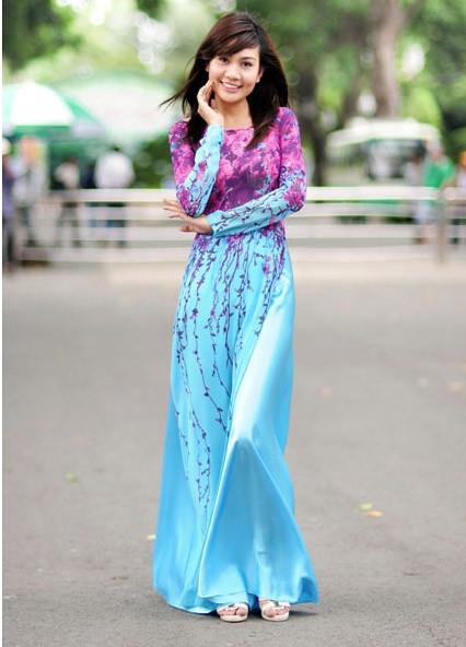 Các kiểu áo dài cưới đẹp nhất 4