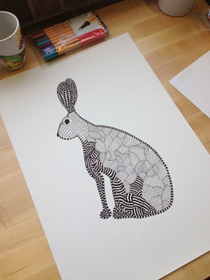 Work in progress - Geometric Hare