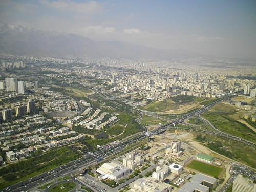 Veduta di Tehran