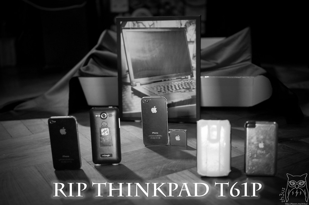 Thinkpad T61p Funeral