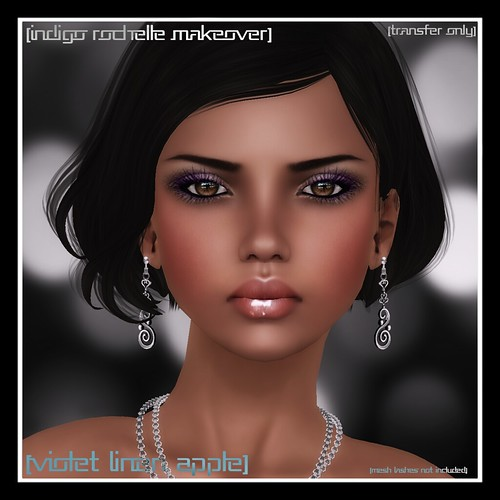 Indigo Rochelle: Violet Linen Apple Makeover by Mocksoup