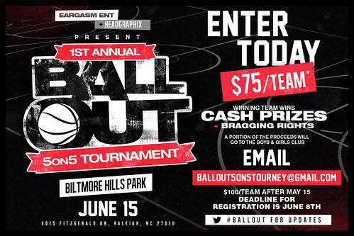 Eargasm (@EargasmEntLLC) & Headgraphix (@HeadGraphix) Ball Out 5 on 5 Tournament
