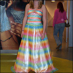 before prom dress