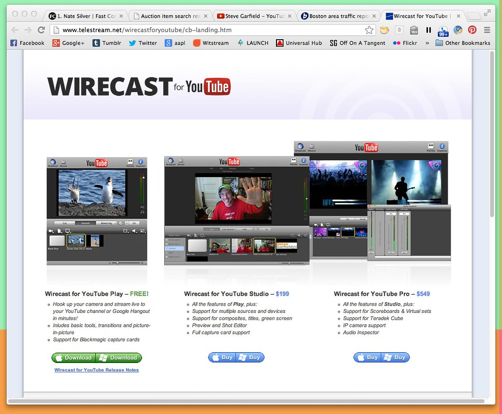 Wirecast for YouTube | Telestream
