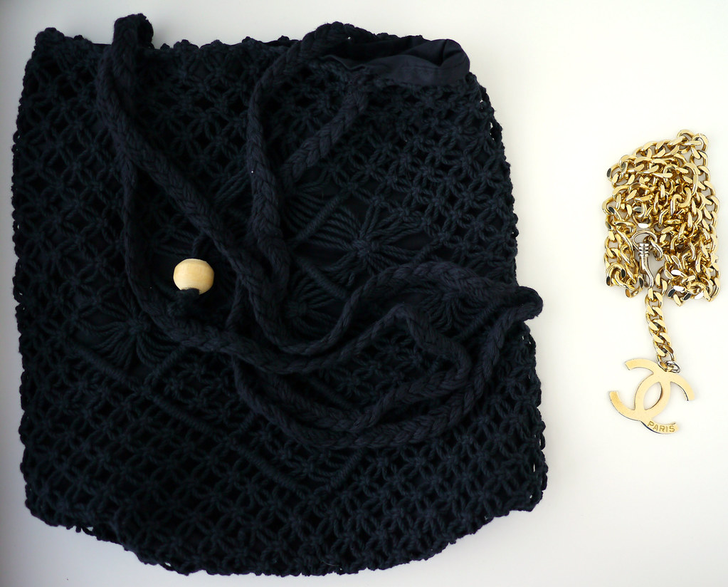 chanel chain clutch DIY2