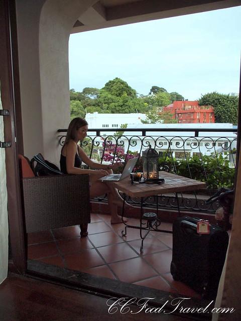 Casa del rio melaka for Balcony 52 melaka