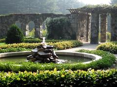 The Mount- Walled Garden morning shot 2 by David Dashiell