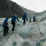 Climbing Up Franz Josef Glacier - South Island, New Zealand