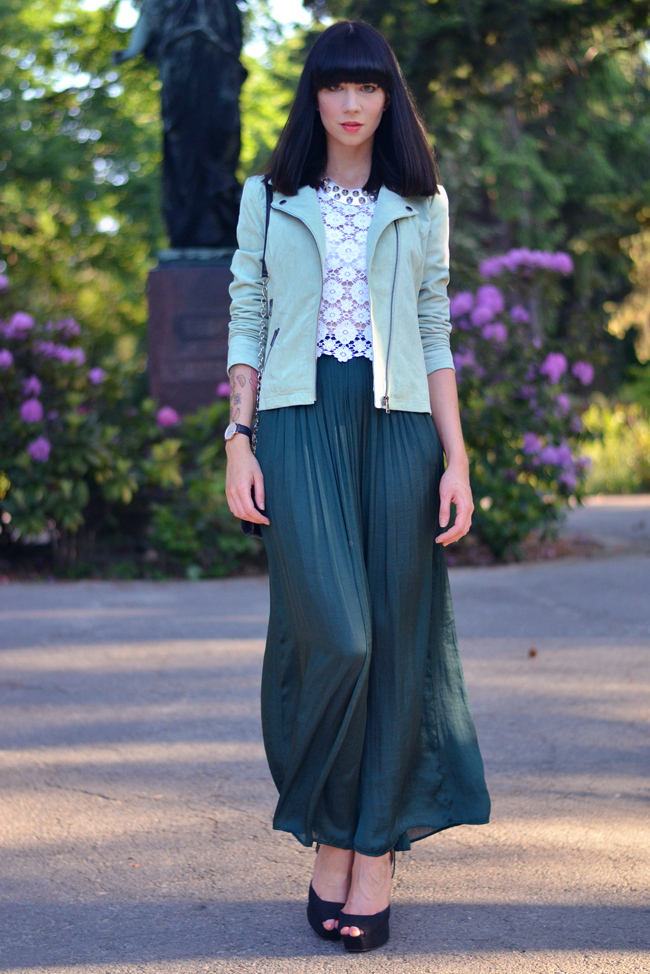 Sojeans green jacket outfit blogger 10