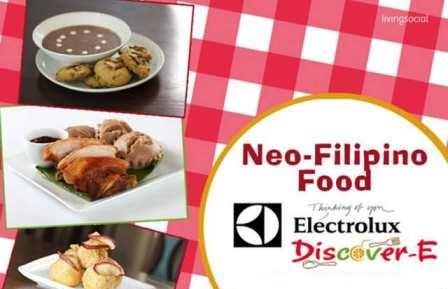 Neo-Filipino Food @ Electrolux Discover-E Food Festival