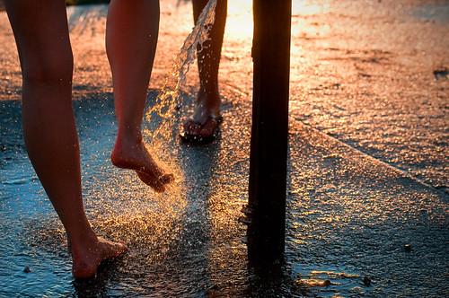 Wet feet by petetaylor