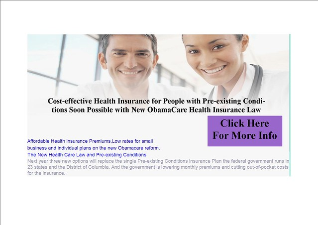 ObamaCare health Insurance law