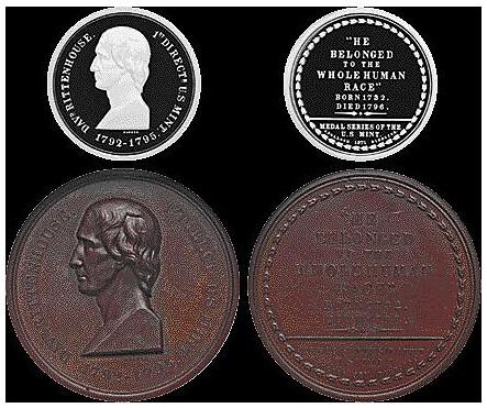 U.S. Mint Rittenhouse medals