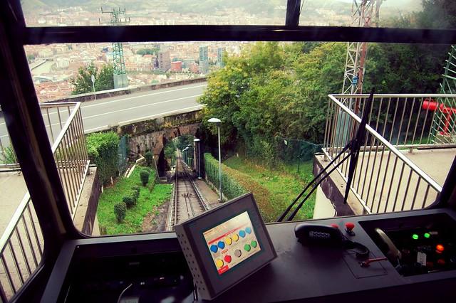 O que ver em Bilbao - Funicular de Artxanda