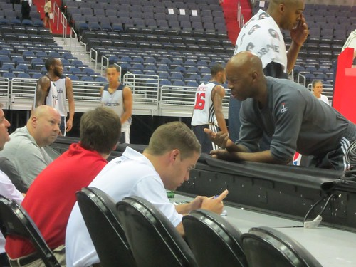 washington wizards, summerfest, adam mcginnis, truth about it, fans, nba, tai, verizon center, monumental sports, wizards, basketball, sam cassell, ryan saunders