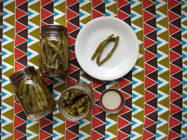 briny bay pickled beans