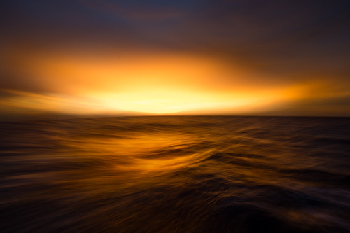 Blue Water Sunrise
