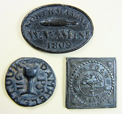 Group of communion tokens