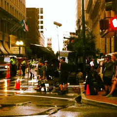 Hollywood South. Filming in New Orleans #nola #neworleans