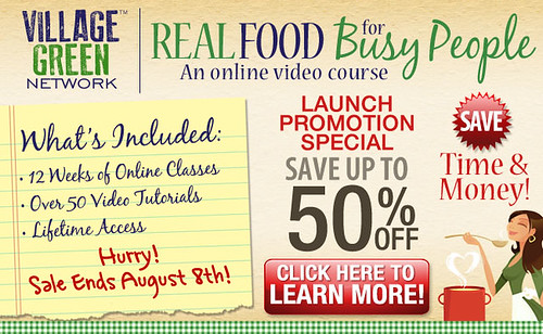 Real Food for Busy People - Save Up to 50%