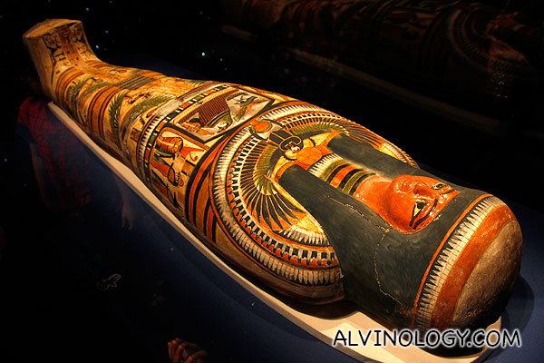 Nesperennub's beautiful coffin which survived the ravage of time