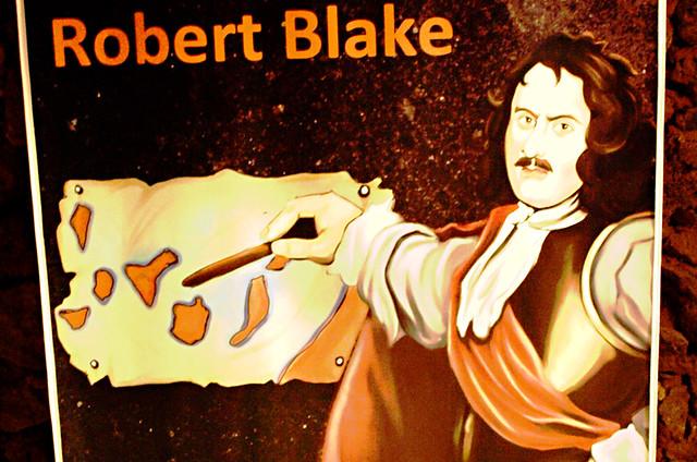 Robert Blake, Tenerife