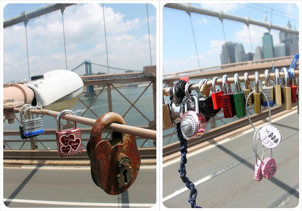 Brooklyn Bridge Love Padlocks