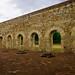 Column bases and unfinished windows @ Ex-Convent of Cuilapam de Guerrero por Burro29