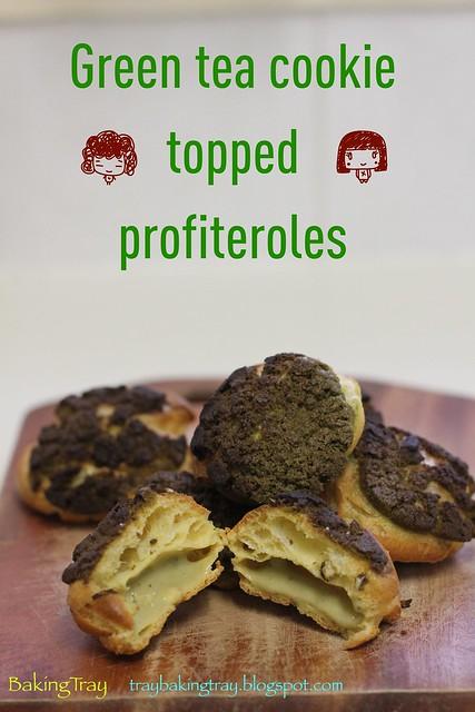 GreenTeaProfiteroles