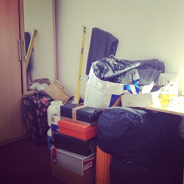 10 moves in 6 years means I have packing down to an art.