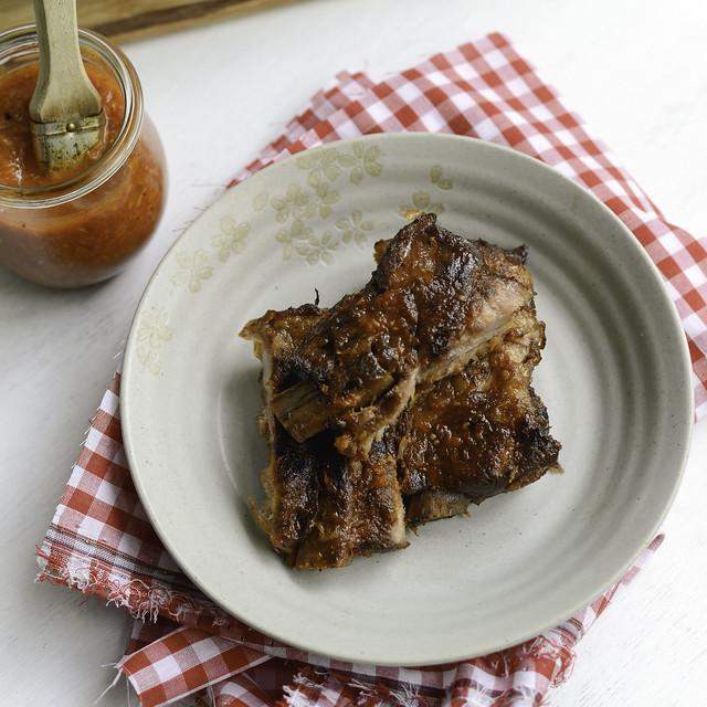 9643490389 26e3057107 z Pork Ribs with Piña Colada BBQ Sauce