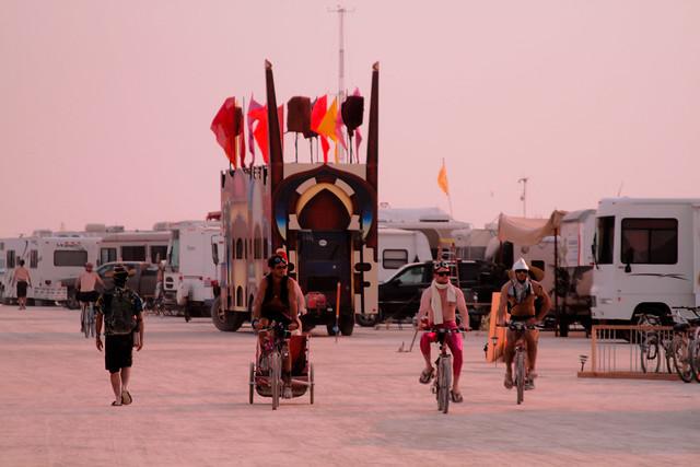 Sunset riders.