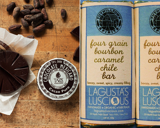 Taza Chocolate (left); photo by Michael Piazza. Lagusta's Luscious (right).