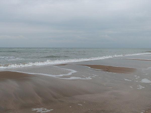 la mer descend
