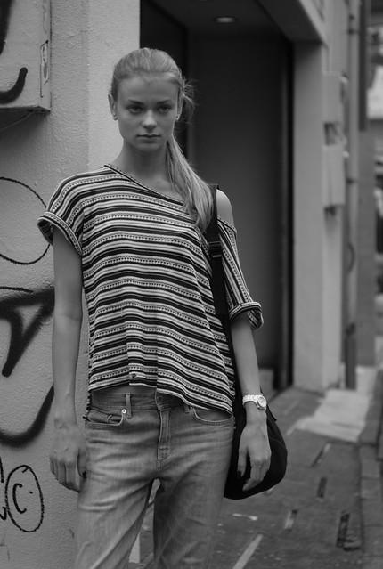 #撮 monochrome street snapshot 001