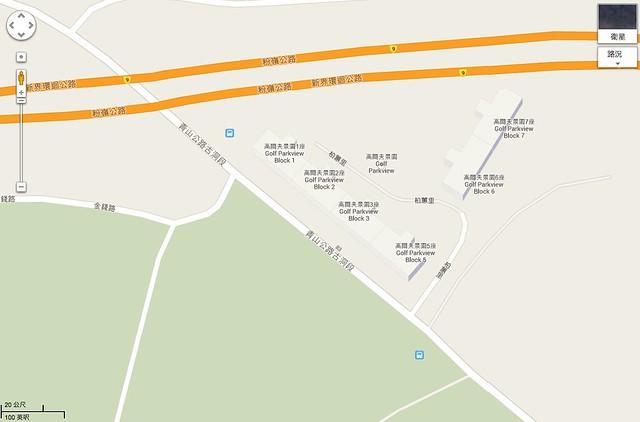 新界上水青山公路–古洞段
