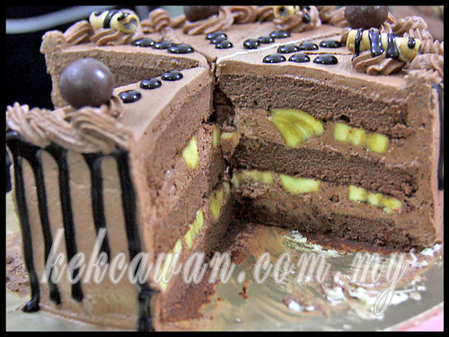 Banana Choc Fudge Cake