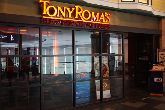 Tony Roma's @ Terminal 21 Bangkok